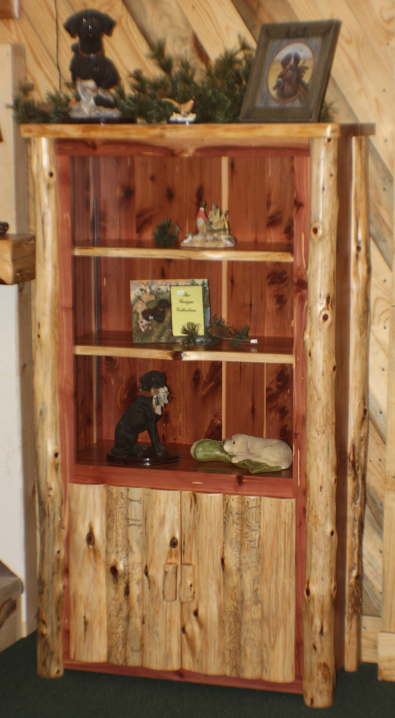 Red Cedar Bookcase